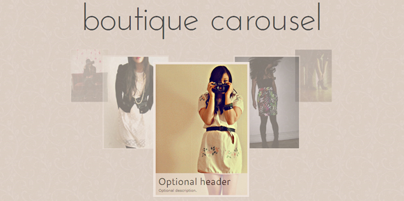 Boutique Carousel