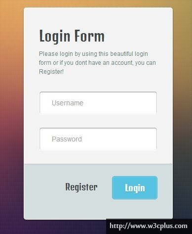 Beautiful Login Form